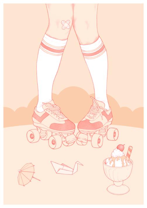 rollerskate-skinny