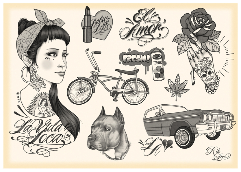 from Illustration rik lee tattoo